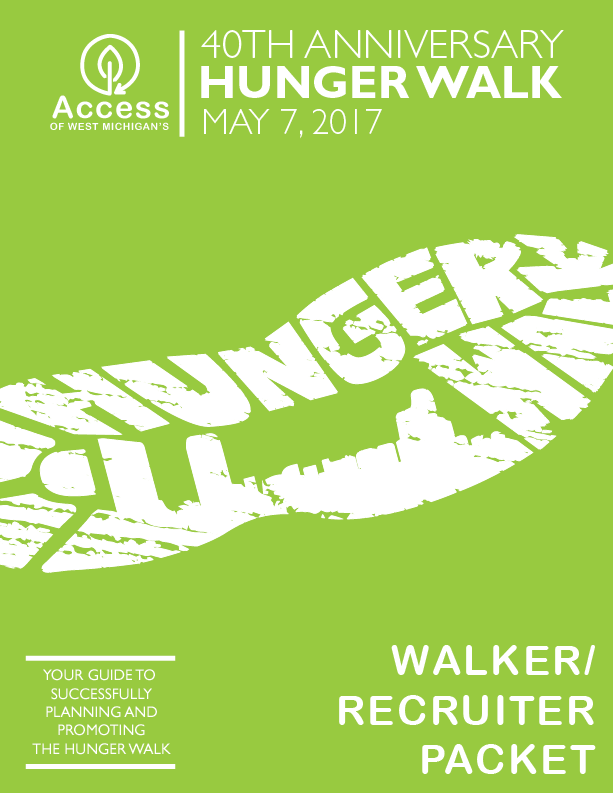 Hunger Walk Walkers and Recruiters Packet-01